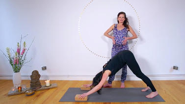 Yoga Video Mamasté Tutorial: 3 Asanas für das 2. Trimester