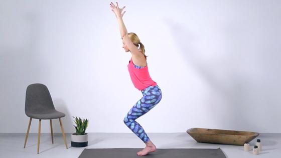Yoga Video Tutorial: 3 Asanas für einen knackigen Po